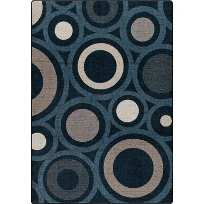 Mix and Mingle Indigo in Focus Rug Rug Size: Rectangle 78 x 109