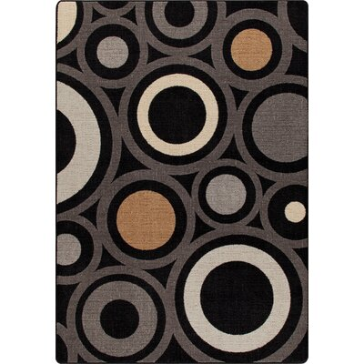 Mix and Mingle Onyx in Focus Rug Rug Size: 54 x 78