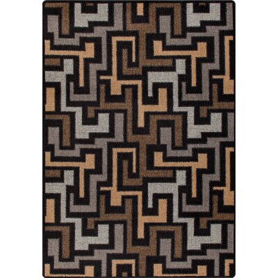 Mix and Mingle Black Label Junctions Rug Rug Size: 54 x 78