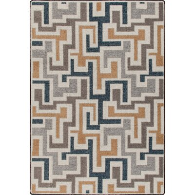 Mix and Mingle Stone Junctions Rug Rug Size: 78 x 109