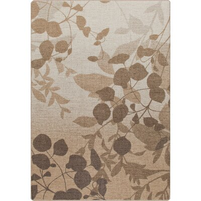 Mix and Mingle Dried Herb Natures Silhouette Rug Rug Size: Rectangle 78 x 109