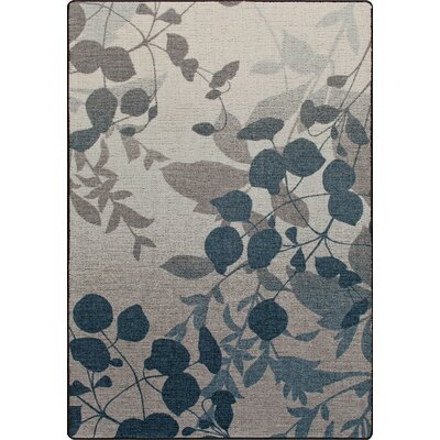 Mix and Mingle Indigo Natures Silhouette Rug Rug Size: 54 x 78