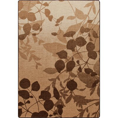 Mix and Mingle Pottery Brown Natures Silhouette Rug Rug Size: Rectangle 78 x 109