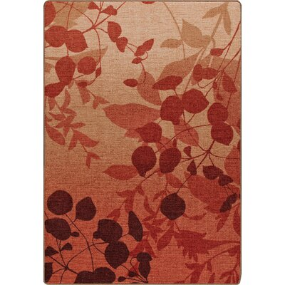 Mix and Mingle Sierra Red Natures Silhouette Rug Rug Size: Runner 21 x 78
