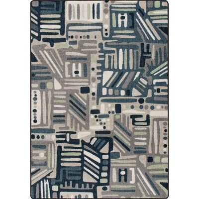 Mix and Mingle Bayside Urban Order Rug Rug Size: Rectangle 78 x 109
