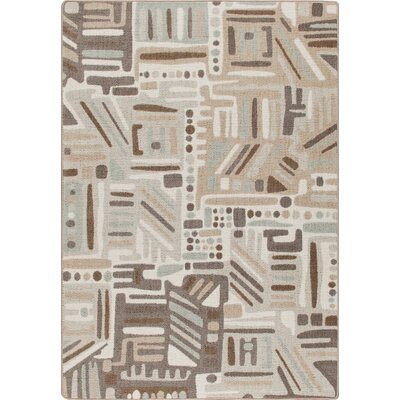 Mix and Mingle Silver Point Urban Order Rug Rug Size: 54 x 78
