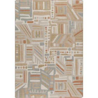 Mix and Mingle Stone Path Urban Order Rug Rug Size: 54 x 78