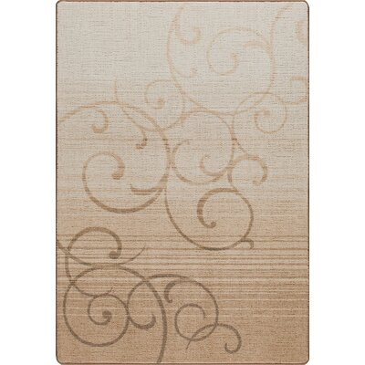 Mix and Mingle Clay Whispering Wind Rug Rug Size: 78 x 109