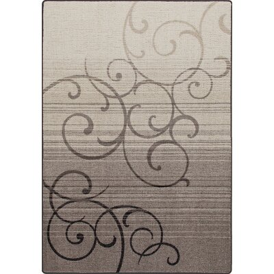 Mix and Mingle Pewter Whispering Wind Rug Rug Size: Runner 21 x 78