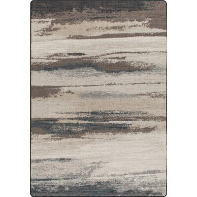 Mix and Mingle Overcast Blue Cloudbreak Rug Rug Size: Rectangle 54 x 78