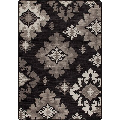 Mix and Mingle Onyx Highland Star Rug Rug Size: 78 x 109