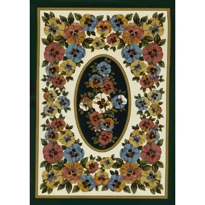 Spring Seasonal Garden View Sunrise Area Rug Rug Size: Rectangle 310 x 54