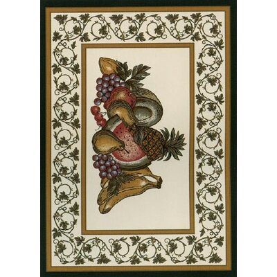 Spring Seasonal Fruitful Area Rug Rug Size: 310 x 54