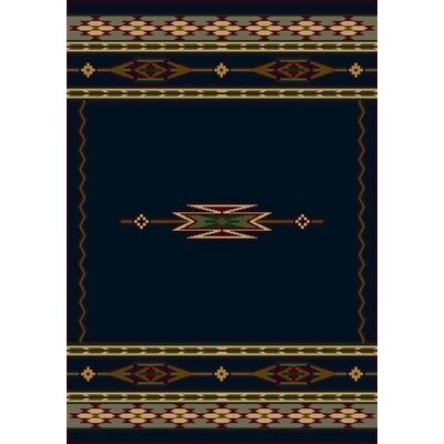 Signature Eagle Canyon Sapphire Area Rug Rug Size: Rectangle 78 x 109