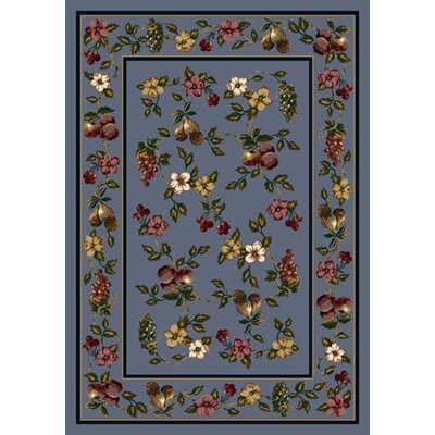 Signature Lorelei Lapis Area Rug Rug Size: Rectangle 54 x 78
