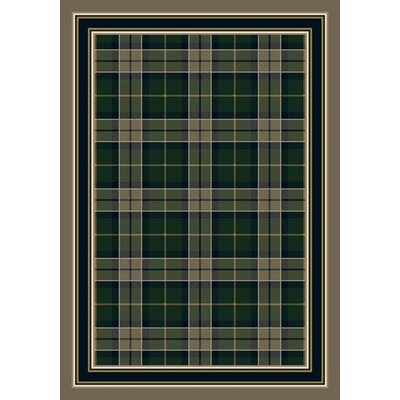 Signature Magee Tartan Sage Area Rug Rug Size: Rectangle 109 x 132