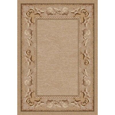 Signature Sand Castles Sandstone Area Rug Rug Size: Rectangle 109 x 132