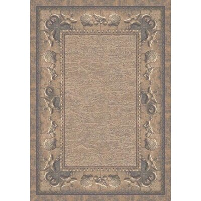 Signature Sand Castles Lapis Sandstone Area Rug Rug Size: Rectangle 310 x 54