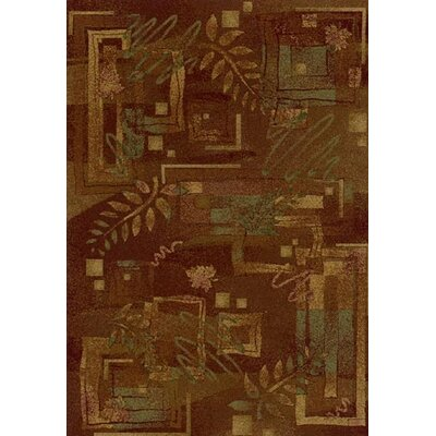 Innovation Autumn Twill Dark Chocolate Area Rug Rug Size: Rectangle 109 x 132