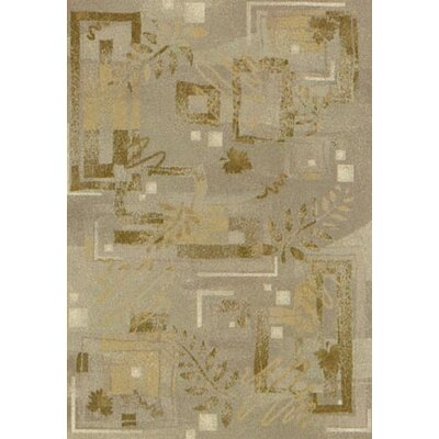Innovation Twill Sandstone Autumn Area Rug Rug Size: 109 x 132