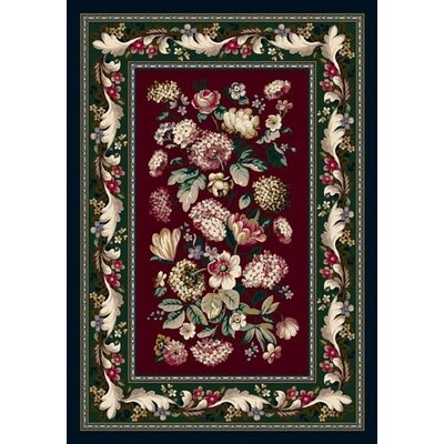 Innovation Chelsea Garnet Area Rug Rug Size: Oval 54 x 78