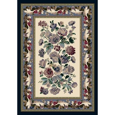 Innovation Chelsea Opal Lapis Area Rug Rug Size: Rectangle 109 x 132