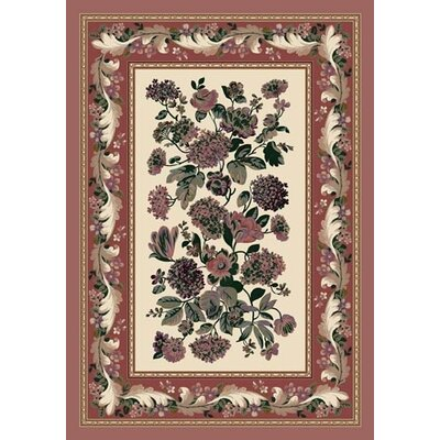 Innovation Chelsea Opal Rose Quartz Area Rug Rug Size: 109 x 132