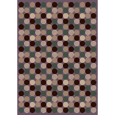 Innovation Da T Da Amethyst Area Rug Rug Size: Oval 310 x 54