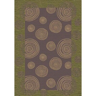 Innovation Wabi Celadon Area Rug Rug Size: Oval 54 x 78