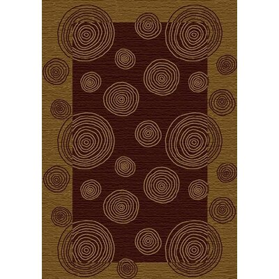 Innovation Wabi Golden Amber Area Rug Rug Size: Round 77