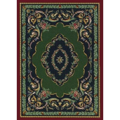 Innovation Lafayette Sapphire Garnet Area Rug Rug Size: Rectangle 78 x 109