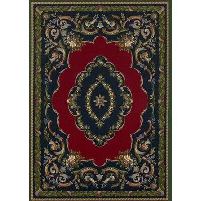 Innovation Lafayette Sapphire Emerald Area Rug Rug Size: Oval 54 x 78