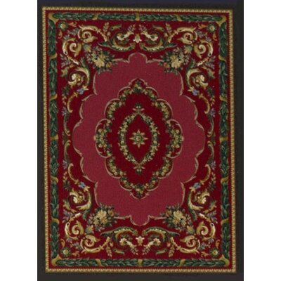 Innovation Lafayette Ruby Onyx Area Rug Rug Size: Oval 310 x 54