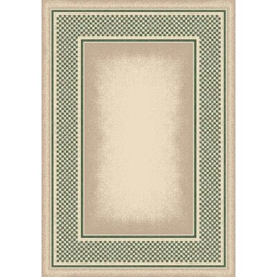 Innovation Opal Peridot Old Gingham Area Rug Rug Size: Oval 310 x 54