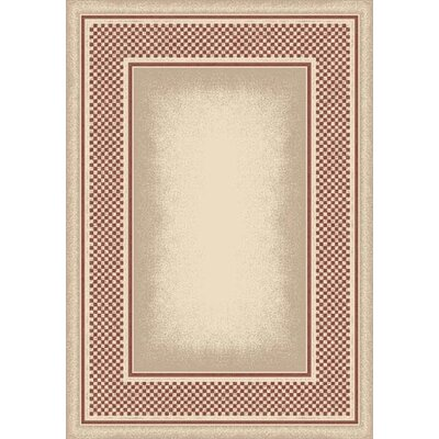 Innovation Opal Rose Quartz Old Gingham Are Rug Rug Size: Oval 54 x 78