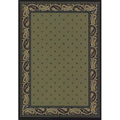 Innovation Sage Indigo Paisley Area Rug Rug Size: Rectangle 109 x 132