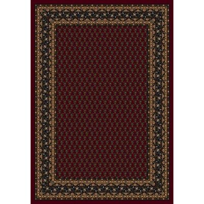 Innovation Garnet Serabend Area Rug Rug Size: Oval 54 x 78