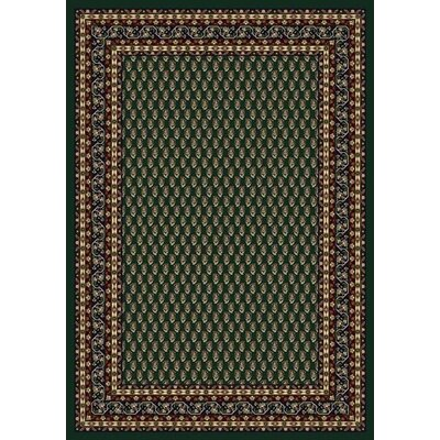 Innovation Emerald Serabend Area Rug Rug Size: Oval 54 x 78