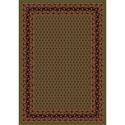 Innovation Golden Tobacco Serabend Area Rug Rug Size: Oval 310 x 54