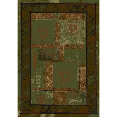 Innovation Celadon Soleil Area Rug Rug Size: Oval 54 x 78