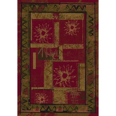 Innovation Brick Soleil Area Rug Rug Size: 54 x 78