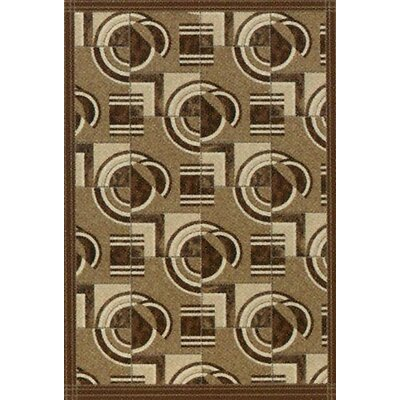 Pastiche Modernes Cafe Creme Area Rug Rug Size: Rectangle 54 x 78