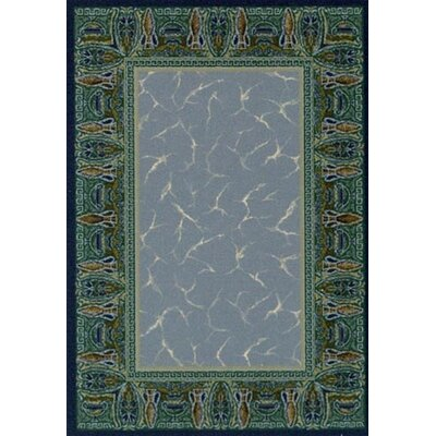 Innovation Sapphire Isis Area Rug Rug Size: Rectangle 109 x 132