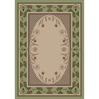 Innovation Light Celadon Kimberly Area Rug Rug Size: Rectangle 109 x 132