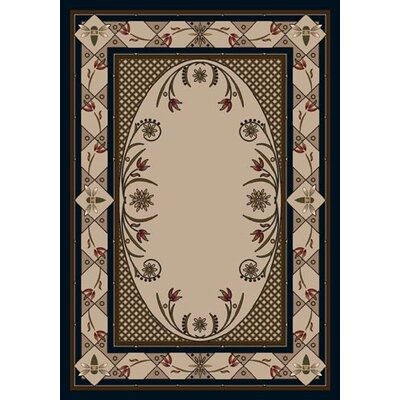 Innovation Sapphire Kimberly Area Rug Rug Size: Oval 54 x 78