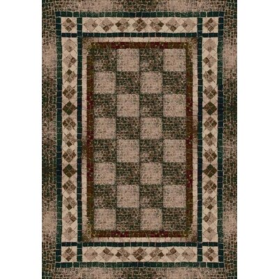 Innovation Dark Amber Flagler Area Rug Rug Size: Rectangle 310 x 54