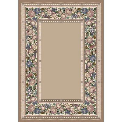 Innovation Pearl Mist English Floral Area Rug Rug Size: 109 x 132