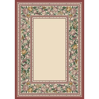 Innovation Opal English Floral Area Rug Rug Size: Oval 310 x 54