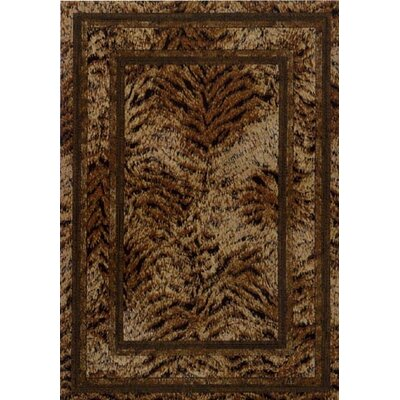 Innovation Golden Topaz Tanzania Area Rug Rug Size: Round 77