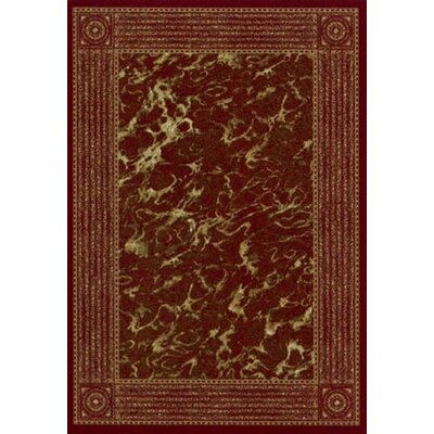 Innovation Garnet Carrara Area Rug Rug Size: Oval 54 x 78